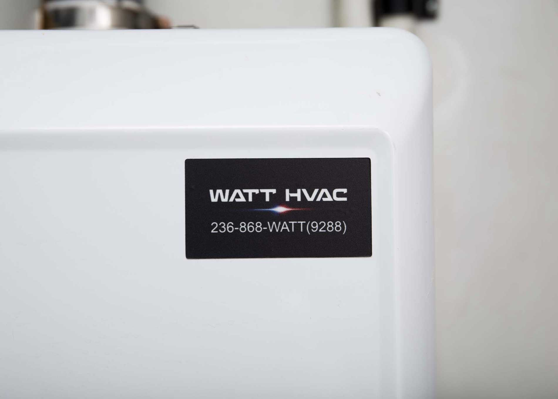 Watt HVAC Installations